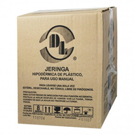JERINGA DESECHABLE DE 10 ML SIN AGUJA