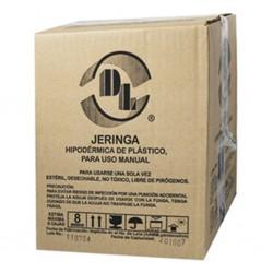 JERINGA DE PLÁSTICO, DE 10 ML CON AGUJA DE 21 X 32 MM.